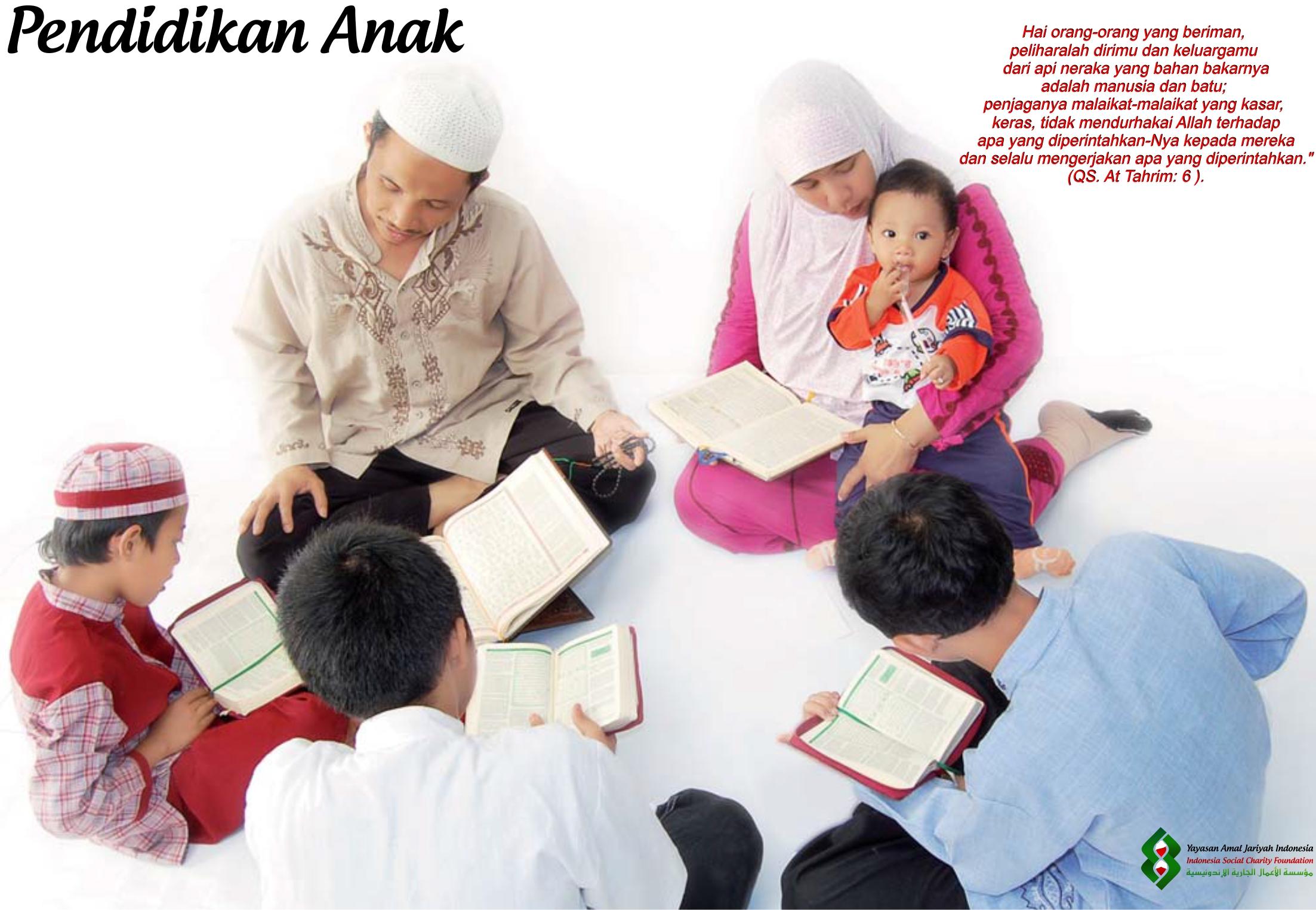 Pendidikan Anak Dalam Islam (Bag.1)