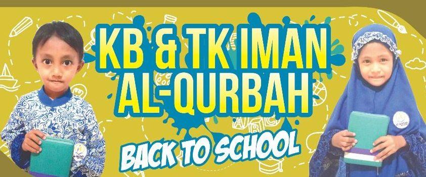 KB dan TK Iman Al Qurbah Menerima Siswa Baru