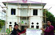 DPM Salurkan Bantuan  Pembangunan Masjid