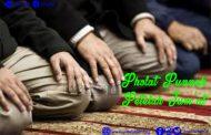 Sholat Sunnah Setelah Jum'at