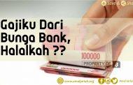 Gajiku Dari Bunga Bank, Halalkah ??