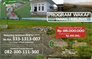 Galang Donasi Tanah Timbunan Untuk Pembangunan Pesantren