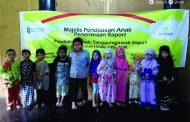 Penerimaan Raport KB & TK Iman al-Qurbah Adakan Pengajian Pendidikan Anak