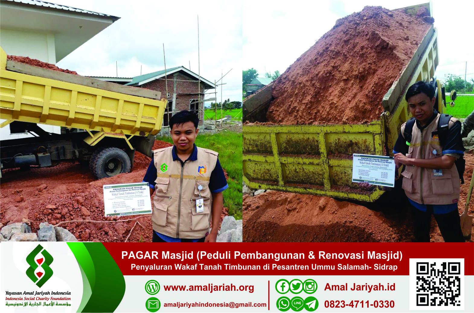 DPM: Donasi Wakaf Tanah Timbunan Kembali Disalurkan
