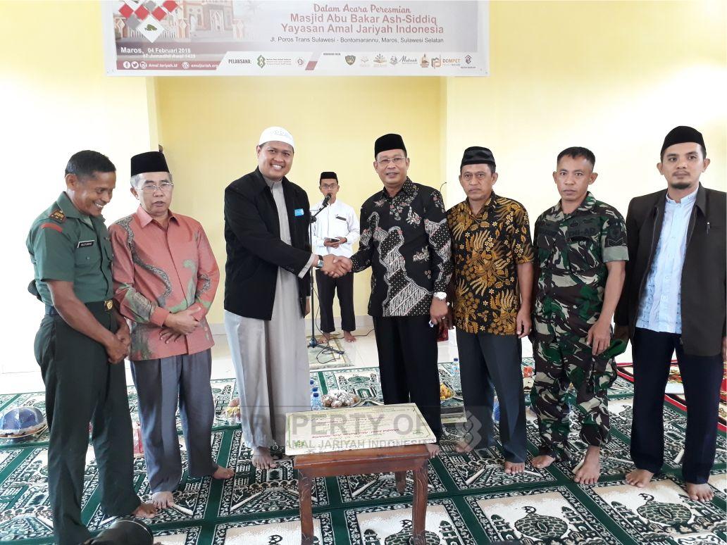 Resmi Dioperasionalkan, Masjid Abu Bakar Ash-Shiddiq Siap Bina Masyarakat