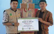 Bantu Pembelajaran Al-Qur'an, DPM Kembali Salurkan Bantuan Al-Qur'an