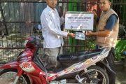Wakaf Sepeda Motor untuk Dakwah Pedalaman