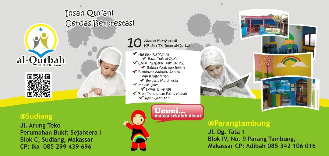 YAJI Buka KB dan TK Al Qurbah Di Makassar