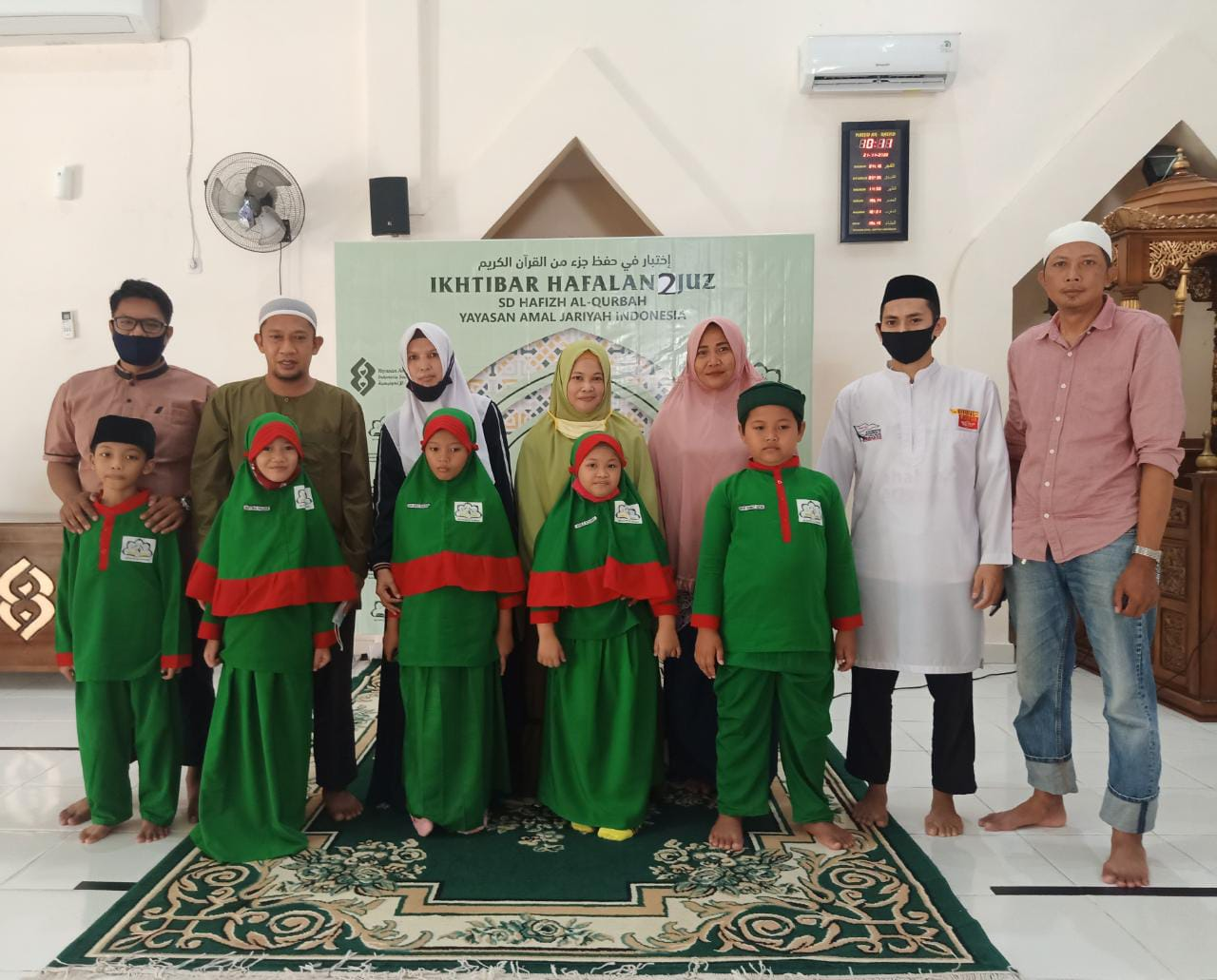 Ikhtibar 2 Juz Murid SD Hafizh Al Qurbah Parepare