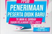 Penerimaan Peserta Didik Baru (PPDB) 2021-2022 KB & TK Iman Al Qurbah