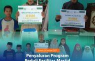 Penyaluran Program Peduli Masjid