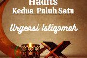 Hadits : Urgensi Istiqomah